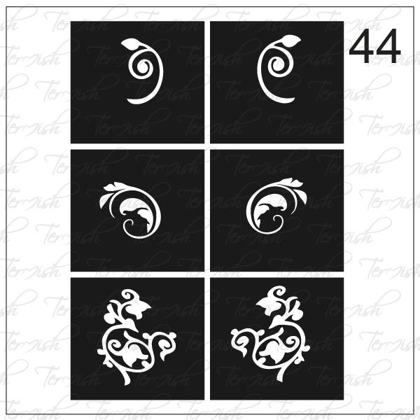 044 stencil