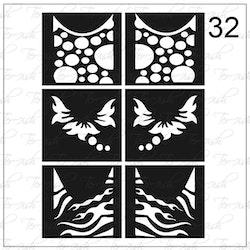 032 stencil