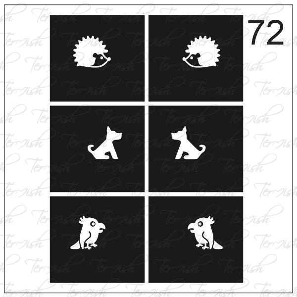 072 stencil