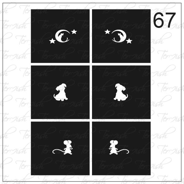 067 stencil