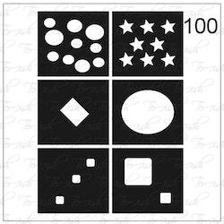 100 stencil