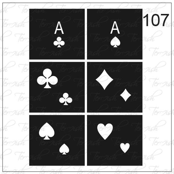 107 stencil
