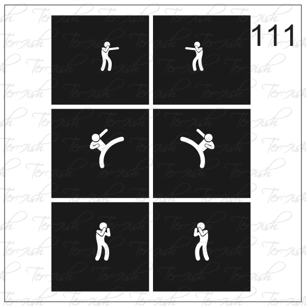 111 stencil