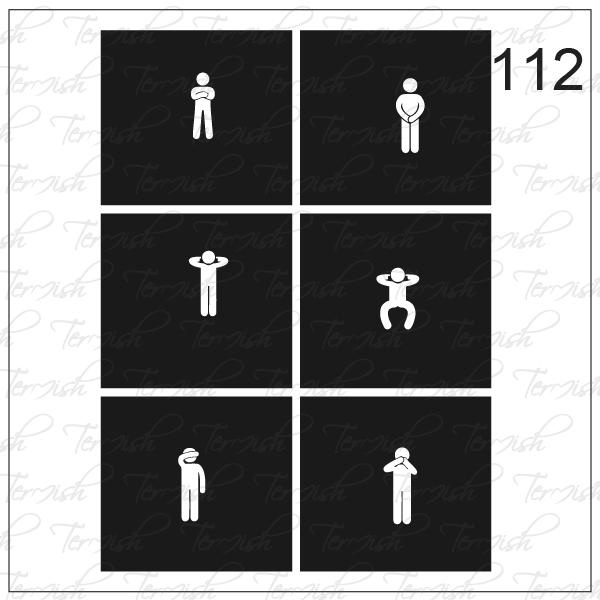 112 stencil