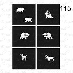 115 stencil