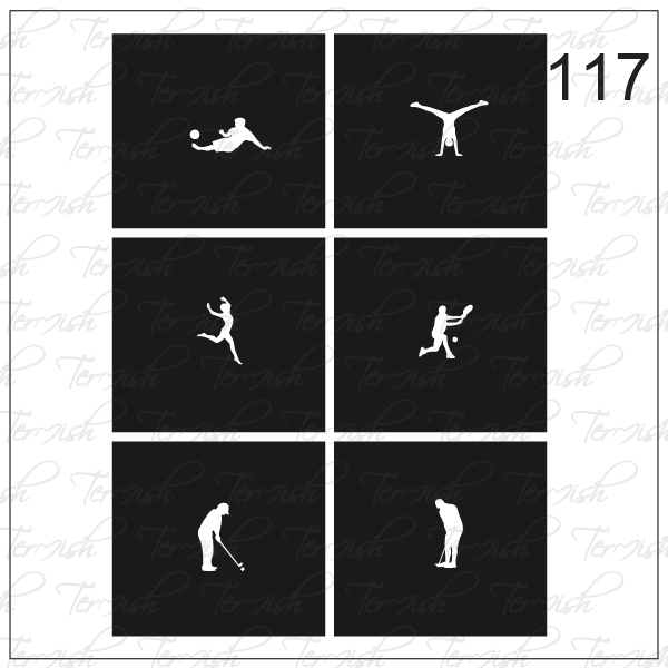 117 stencil