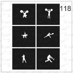 118 stencil