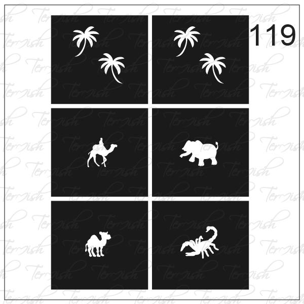 119 stencil