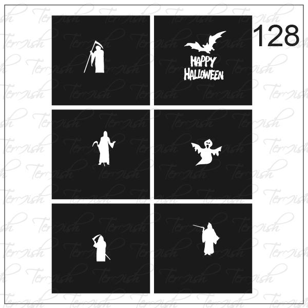128 stencil