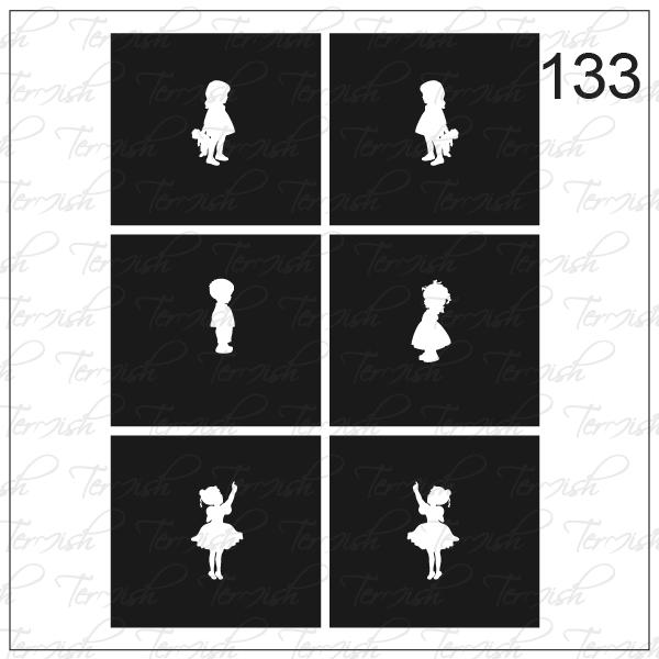 133 stencil