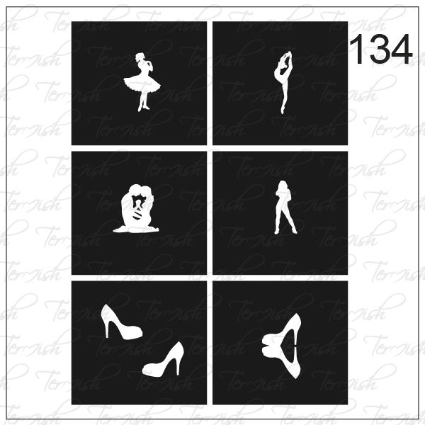 134 stencil