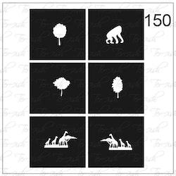 150 stencil