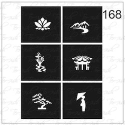 168 stencil