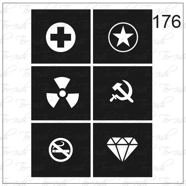 176 stencil