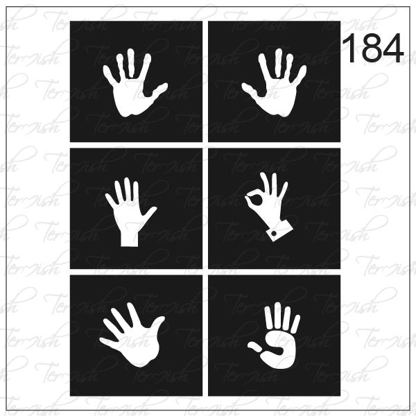 184 stencil
