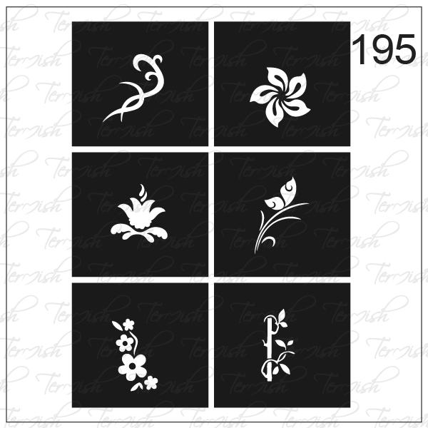 195 stencil
