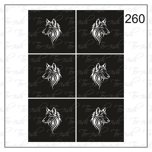 260 stencil