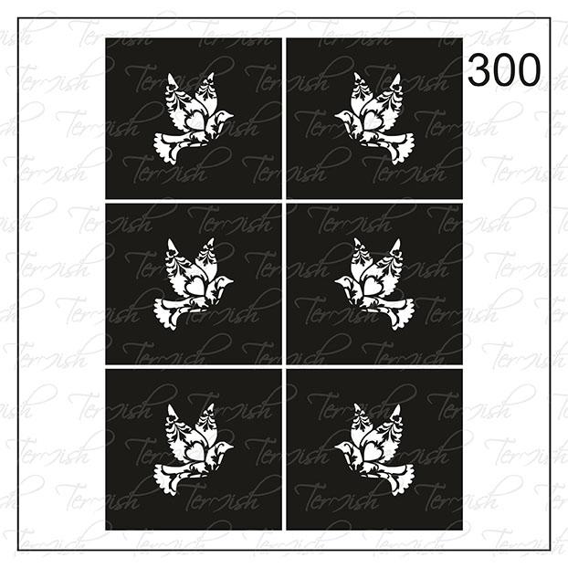 300 stencil