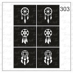 303 stencil