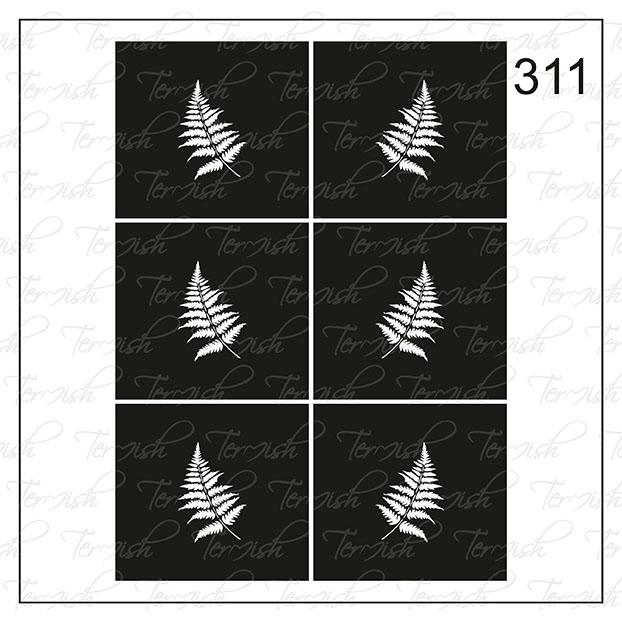 311 stencil
