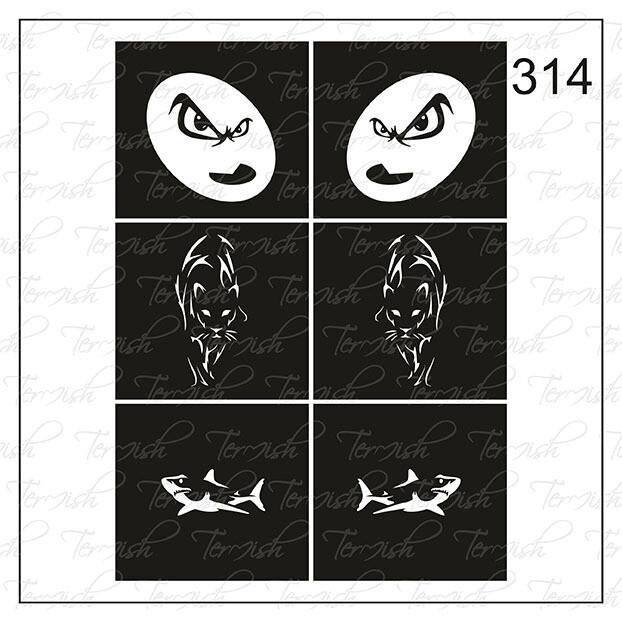 314 stencil