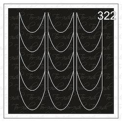 322 stencil