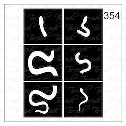 354 stencil