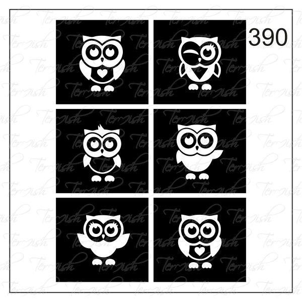 390 stencil