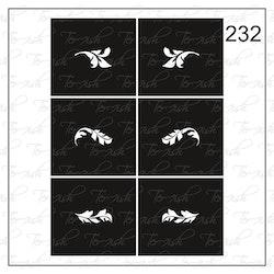 232 stencil