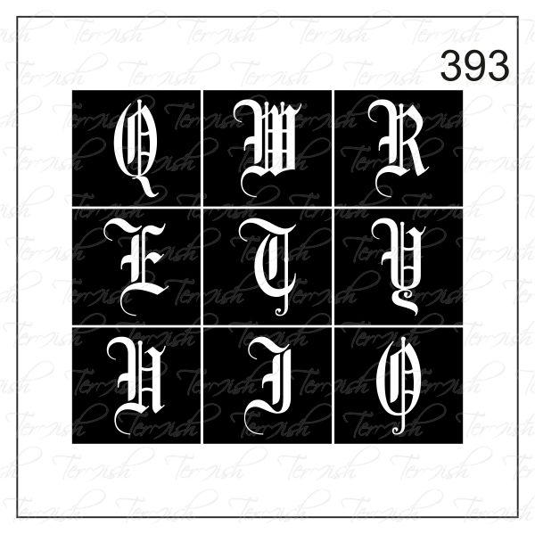 393 stencil