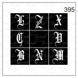 395 stencil
