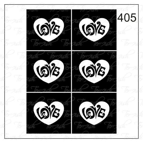 405 stencil