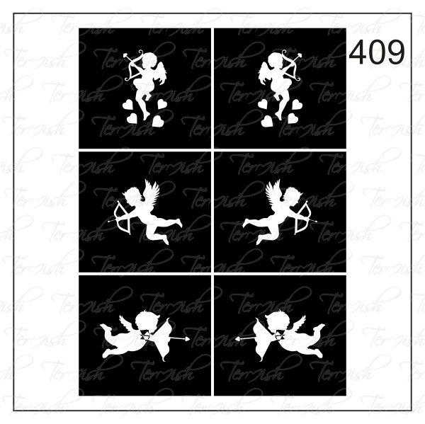 409 stencil