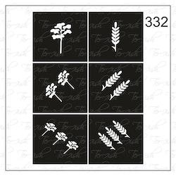 332 stencil
