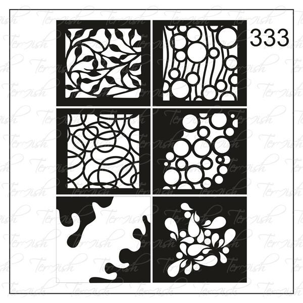 333 stencil