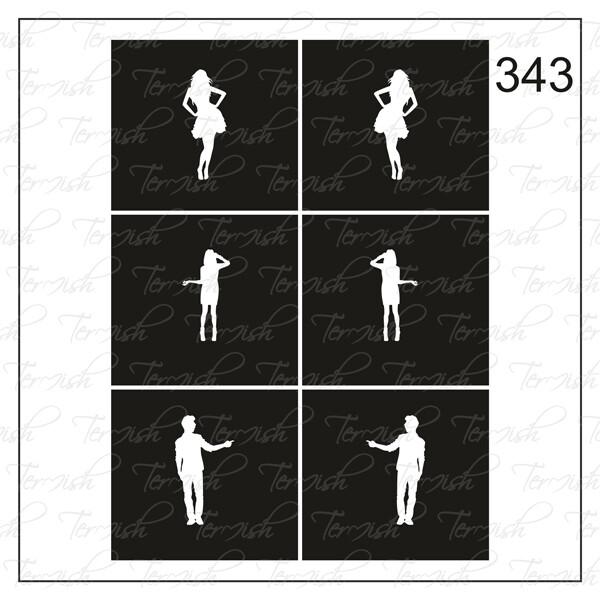 343 stencil