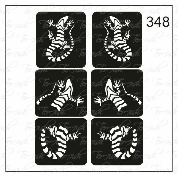348 stencil