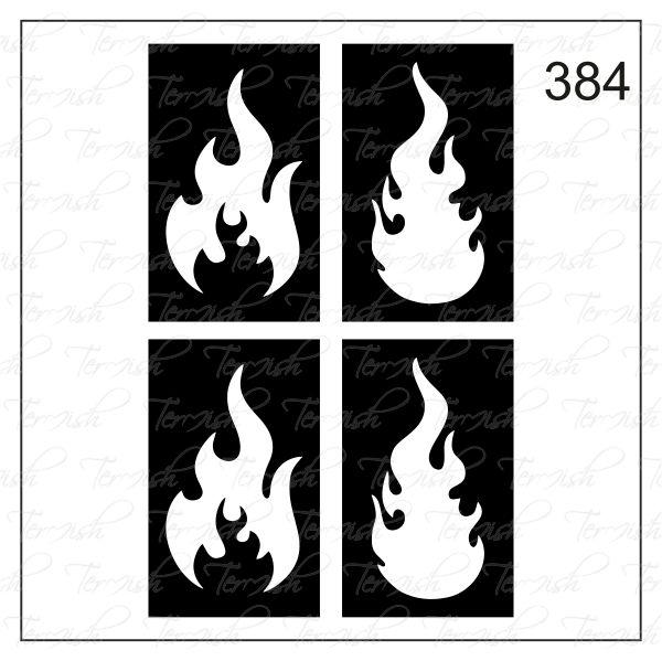 384 stencil