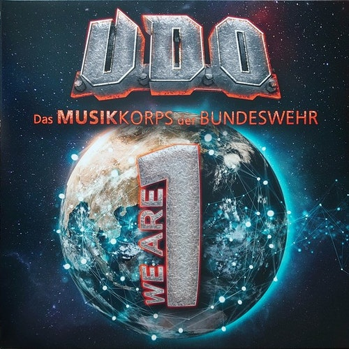 U.D.O - We Are One (2LP Blå)