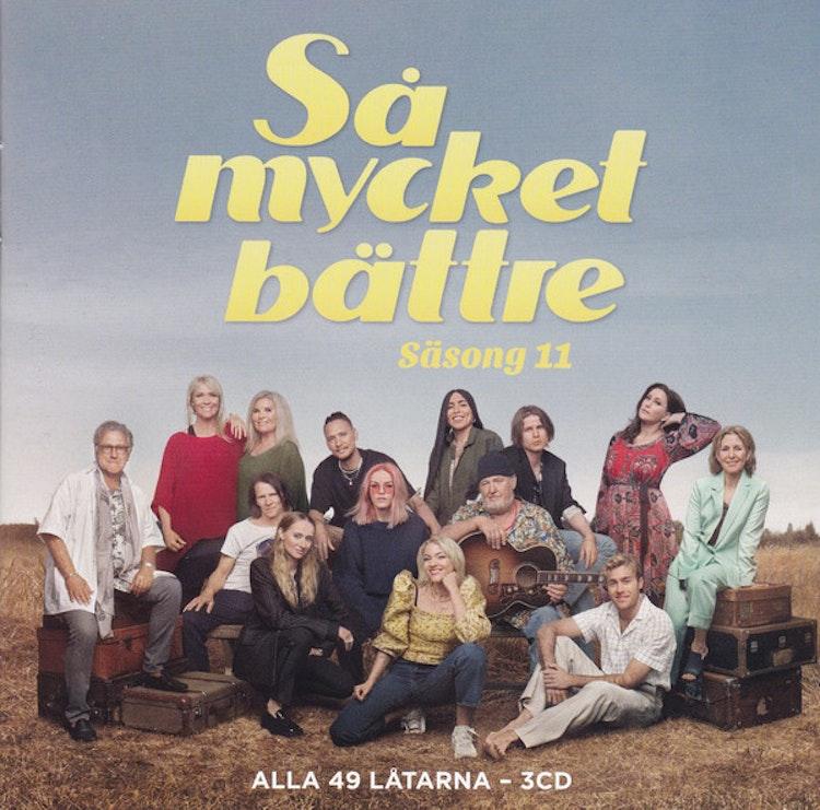 Så Mycket Bättre - Säsong 11 (3CD)