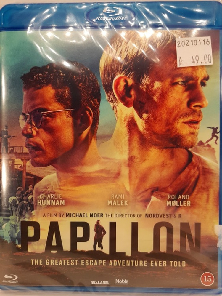Papillon 2018 (Blu-ray)