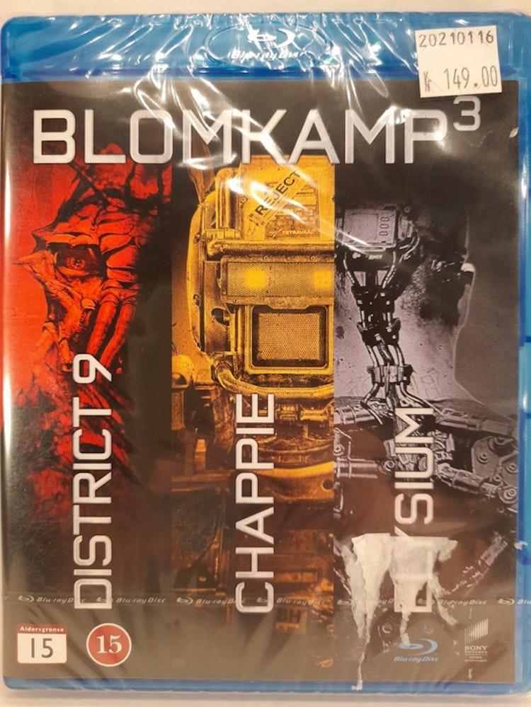 Blomkamp 3 - 3 Movie Collection (Blu-ray)