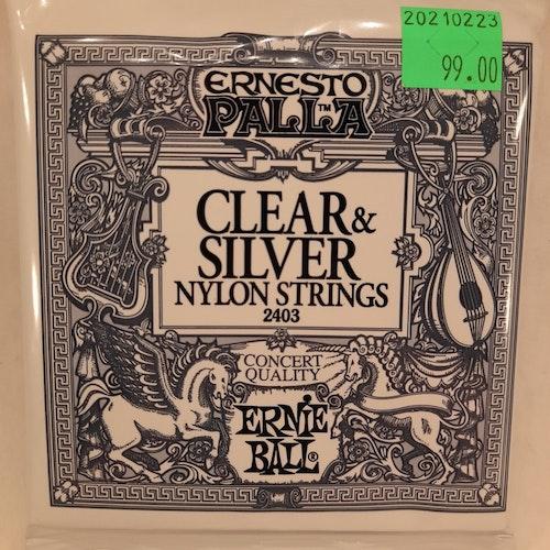 Ernie Ball - Clear & Silver Nylon Strings (2403)