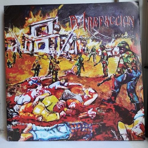 Putrefaccion / Ominous - Escuadrones De La Muerte (Beg. LP Ltd. Split)
