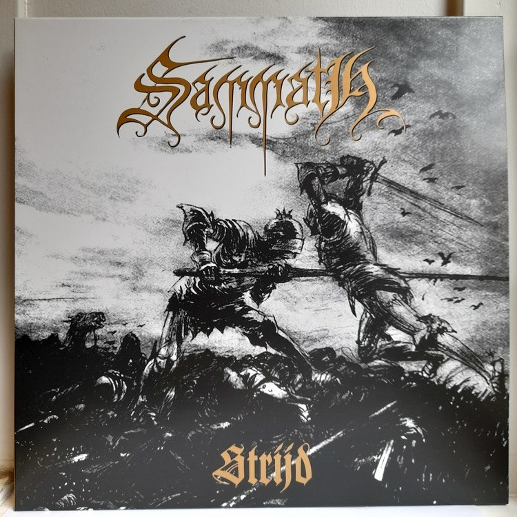 Sammath - Strijd (Beg. LP Gold)