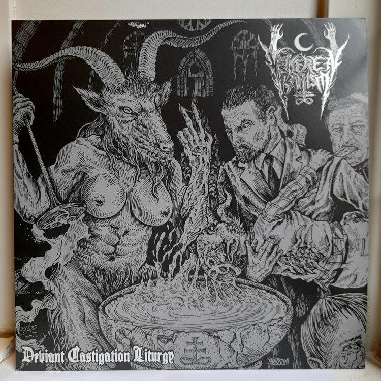 Venereal Baptism – Deviant Castigation Liturgy (Beg. LP Ltd. Black/White Splatter)