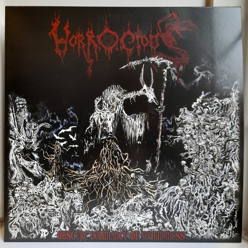 """Horrocious – Obscure Dominance Of Nothingness (Beg. 12"""" EP Single sided)"""