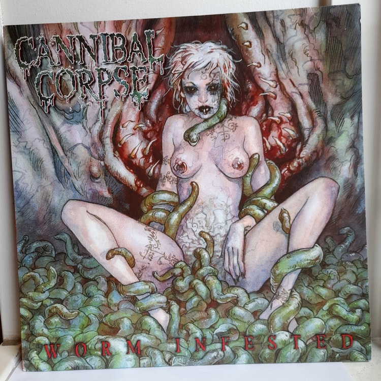 """Cannibal Corpse - Worm Infested (Beg. 12"""" Picture Disc)"""