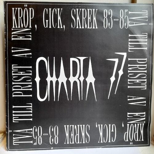 Charta 77 - Kröp, Gick, Skrek 83-85 (Beg. 2LP Comp)