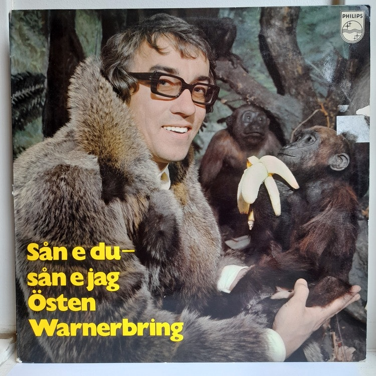 Östen Warnerbring – Sån E Du - Sån E Jag (Beg. LP)